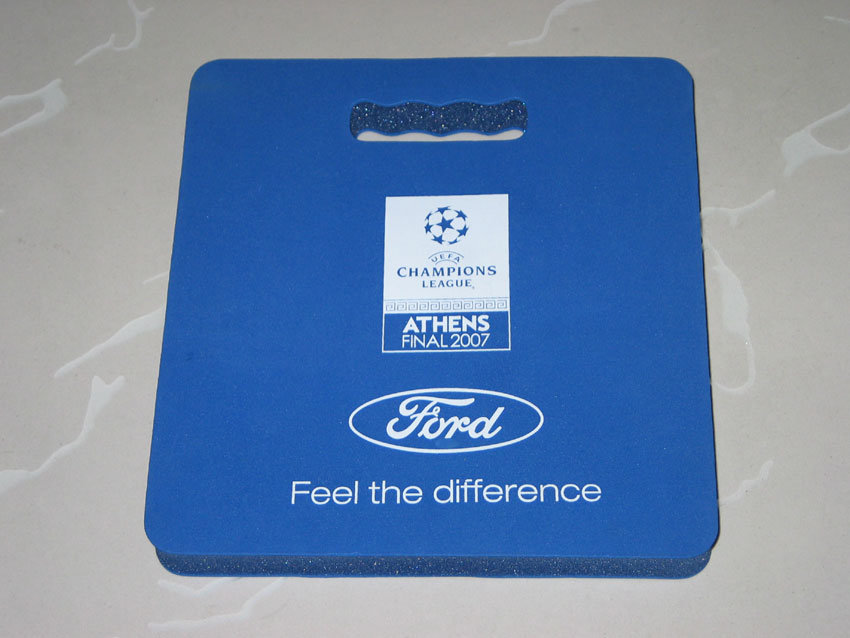EVA Add Sponge Foam Stadium Cushion Seat Mat with Logo