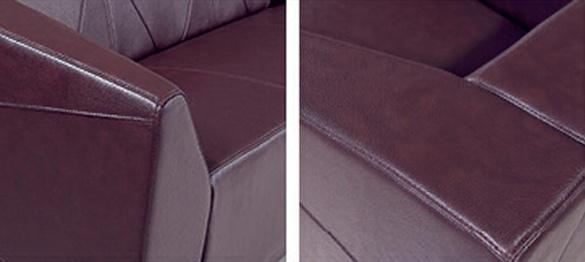 Modern Sofa Furniture Office Sectional Genuine Leather Sofa