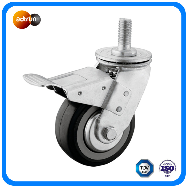 Heavy Duty Thread Stem Industrial Casters