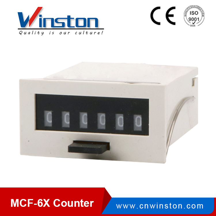 Mcf-6X Digital Electromagnetic Number Counter