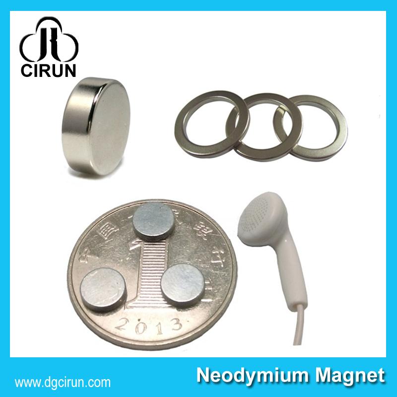 Cheap Price Permanent Small Neodymium Disc Ring Speaker Magnet