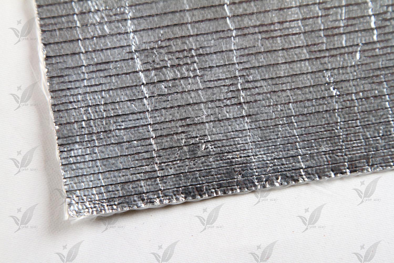 Al-7628 Aluminized Fiberglass Fabric