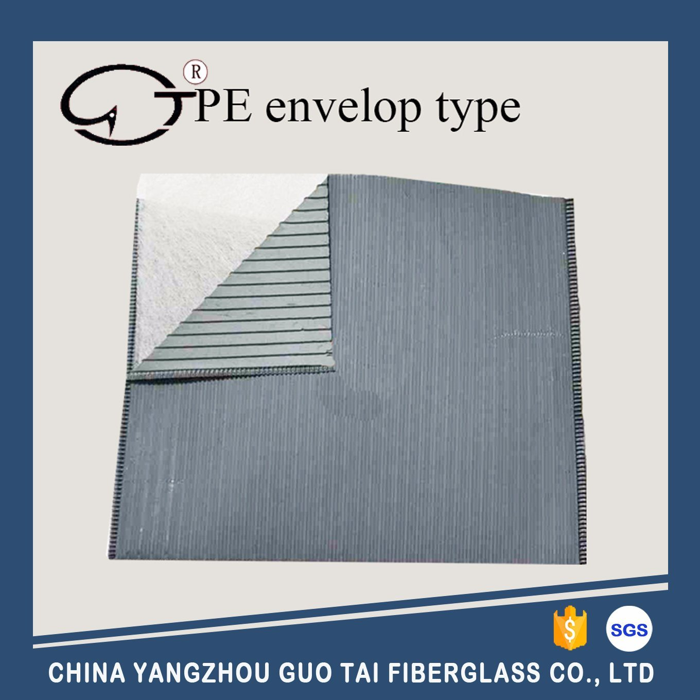 PE Envelop Separator with Glass Mat Inner