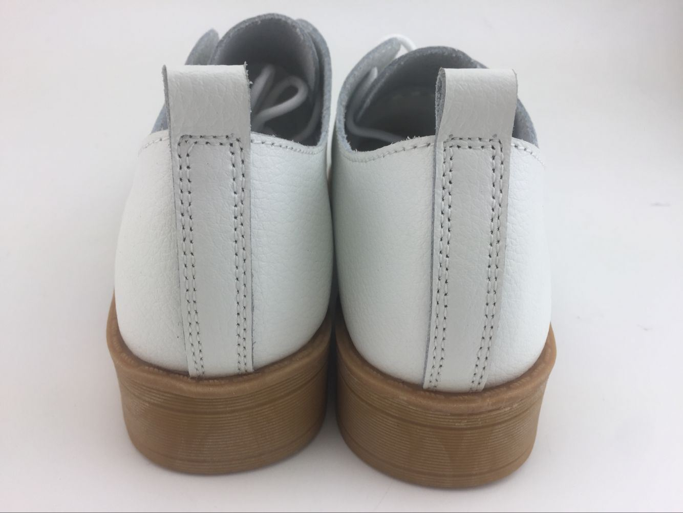 New Style Fashion Lady Leather Shoes British Style Shoes (FW-2)