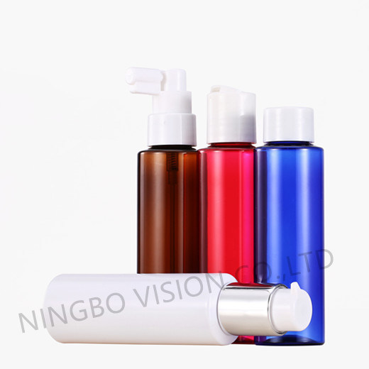 100ml Plastic Bottle with Sprayer for Cosmetic