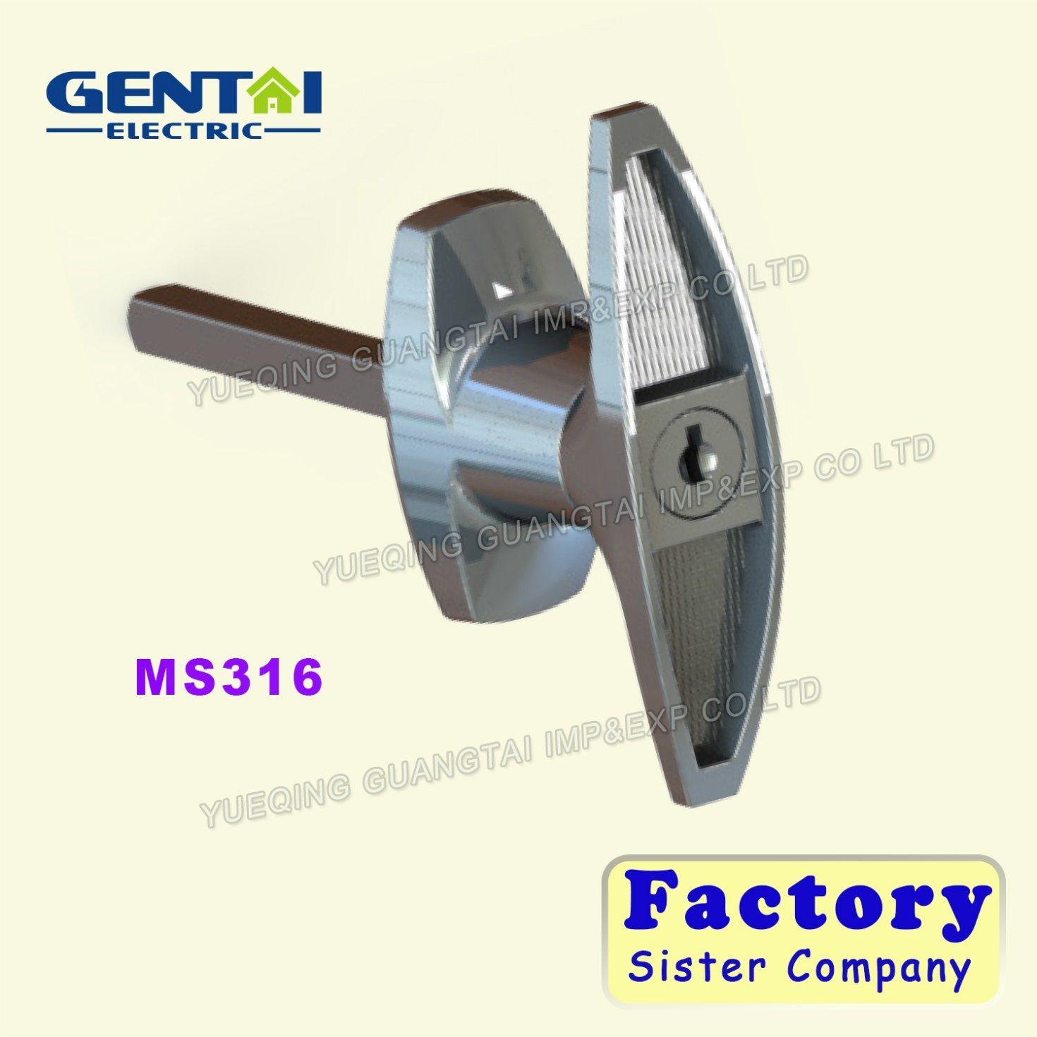 Competitive Aluminum Iron Plate Door Handle Lock