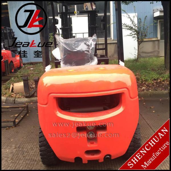 Ce ISO 2.5 Ton 3m Duplex Mast Diesel Forklift