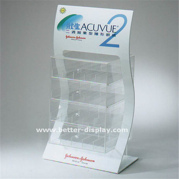 Clear Acrylic Brochure Display Stand (BTR-H6049)