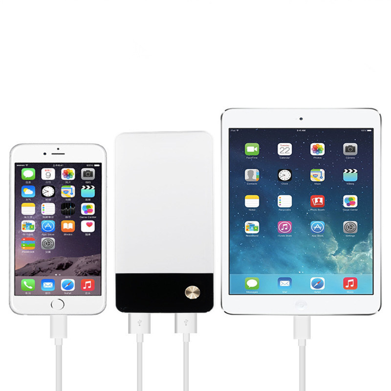 Portable Slim Quick Charge 3.0 Power Bank Mobile Power for Smart Phones