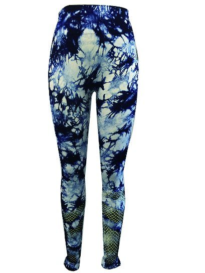 Seamless Jacquard Legging Pants with Hole