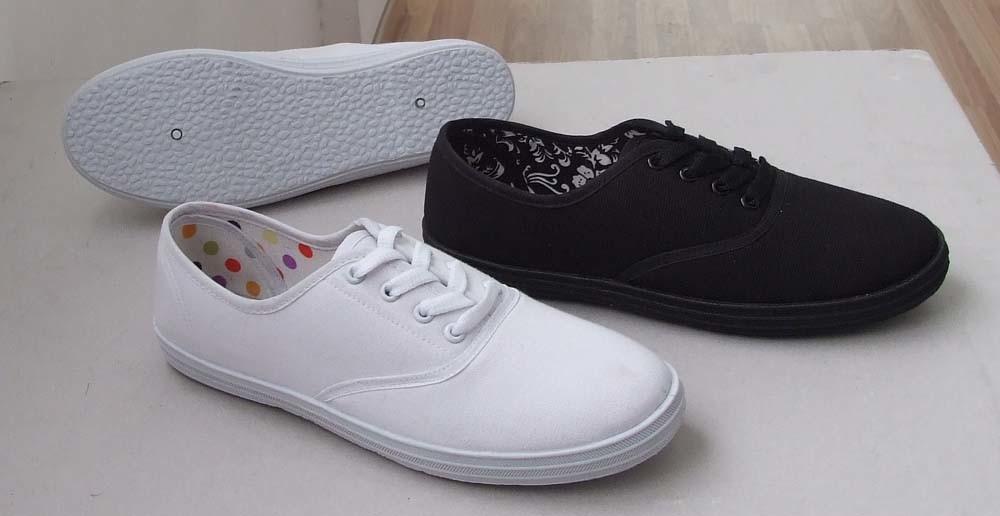 Eco Women's Canvas Shoes - Beige