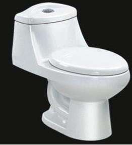 Siphonic one piece toilet on 093 china toilet set ceramic toilet