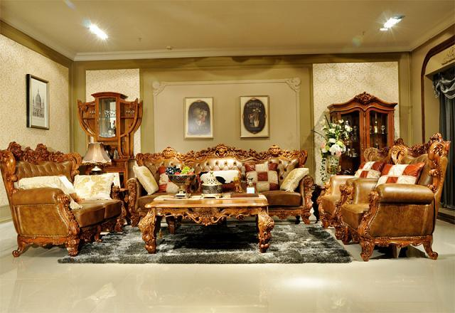 England royal style living room furniture for Royal living room designs