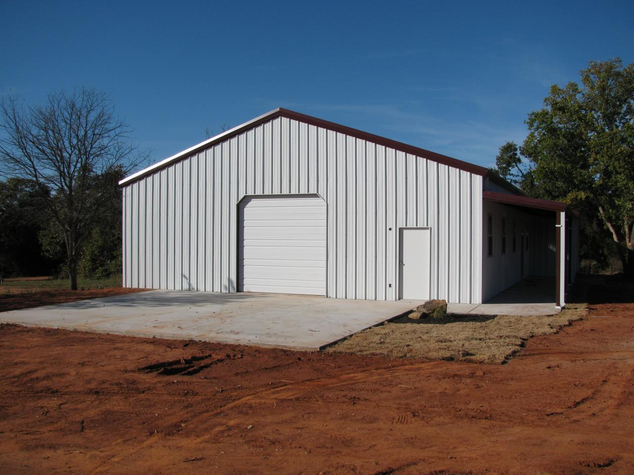 China steel structure warehouse prefabricated garage with for Metal garage with porch