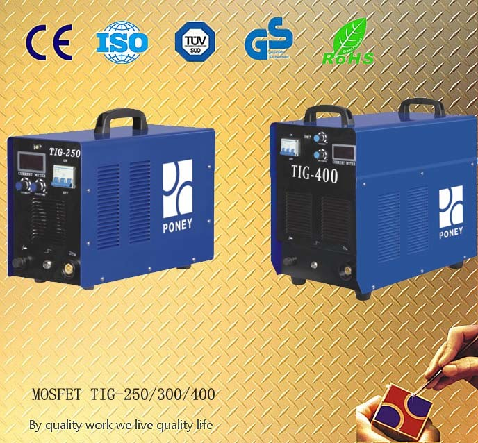 DC Inverter Argon/TIG Welding Machine /Welder/Welding Equipment (TIG-250/300/400)