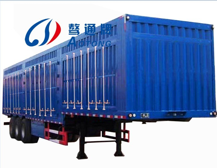 China 3 Container Semi Truck Trailer
