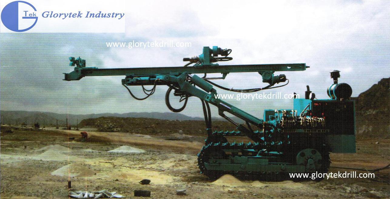 Hydraulic Crawler Type Rock Blasting Drilling Rig (GL120Y)