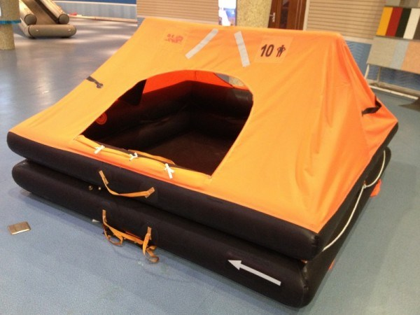 25 Persons Marine Offshore Survival Rafts / Self-Righting Type Life Rafts