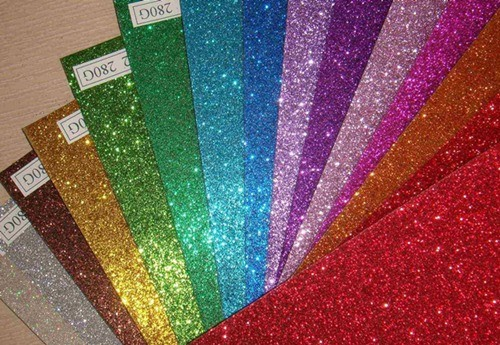China Color Glitter Paper China Color Glitter Paper