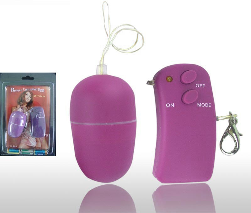 10 Vibe Remote-Controlled Egg (XT-1024C)