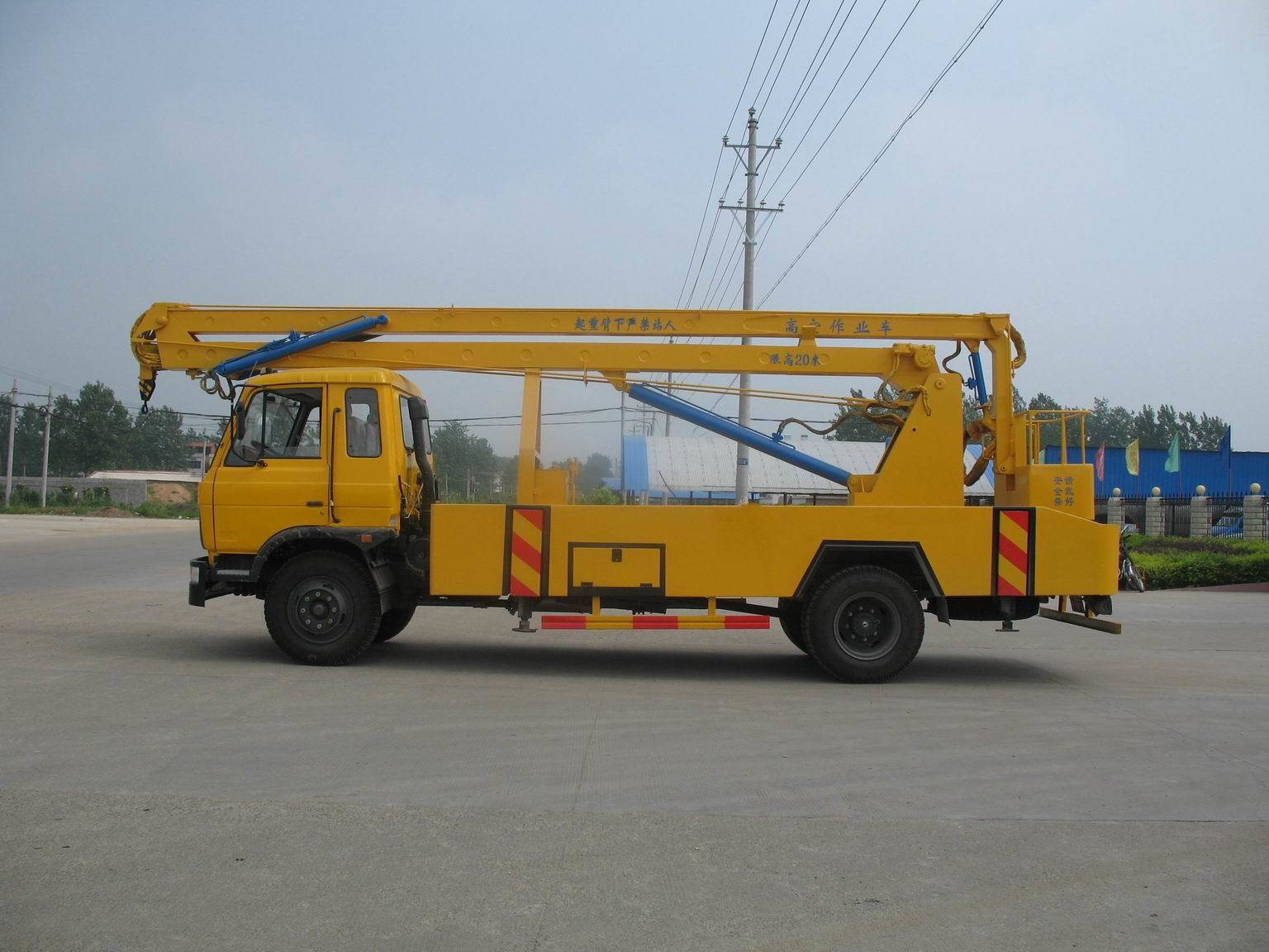 Boom Lift Truck : China truck mounted boom lift aerial