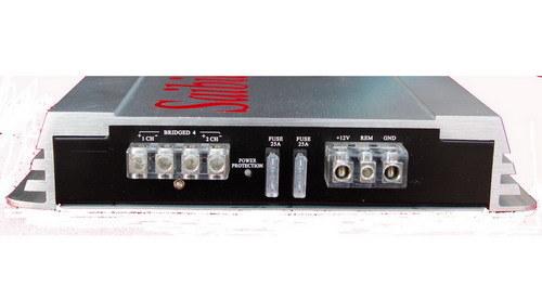 Car digital amplifier