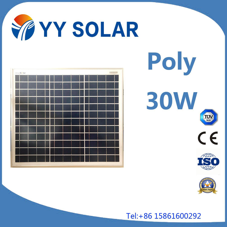 20W/30W/40W Solar Panel for Marine Applications