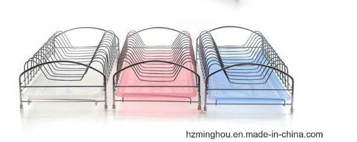 Practical Kitchenware Metal Dishes Rack with Competitive Price
