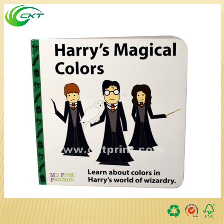 Offset Printing Full Color Die Cut Children Book / Children Board Book/A5 Softcover Baby Children Book (CKT-BK_005)