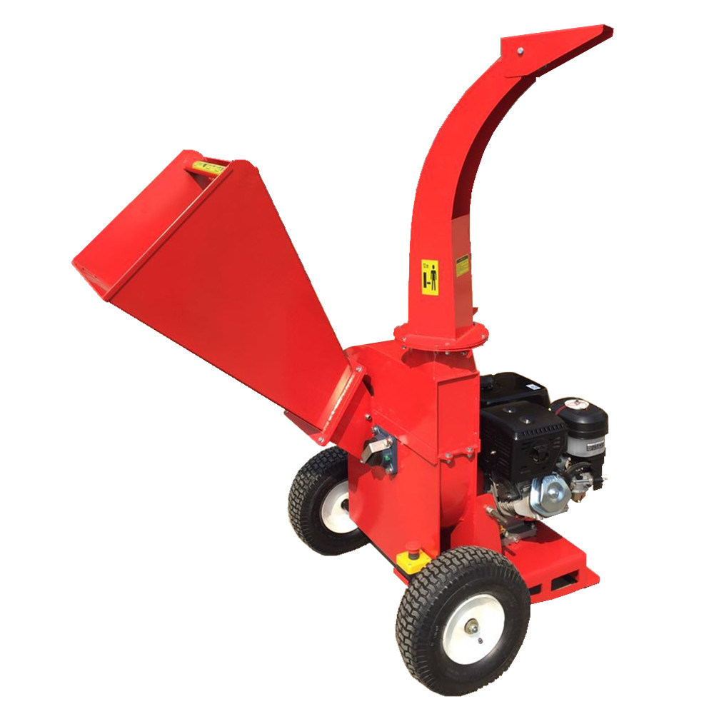 Disc Wood Chipper Shredder 13 HP Engine New Design with High Performance
