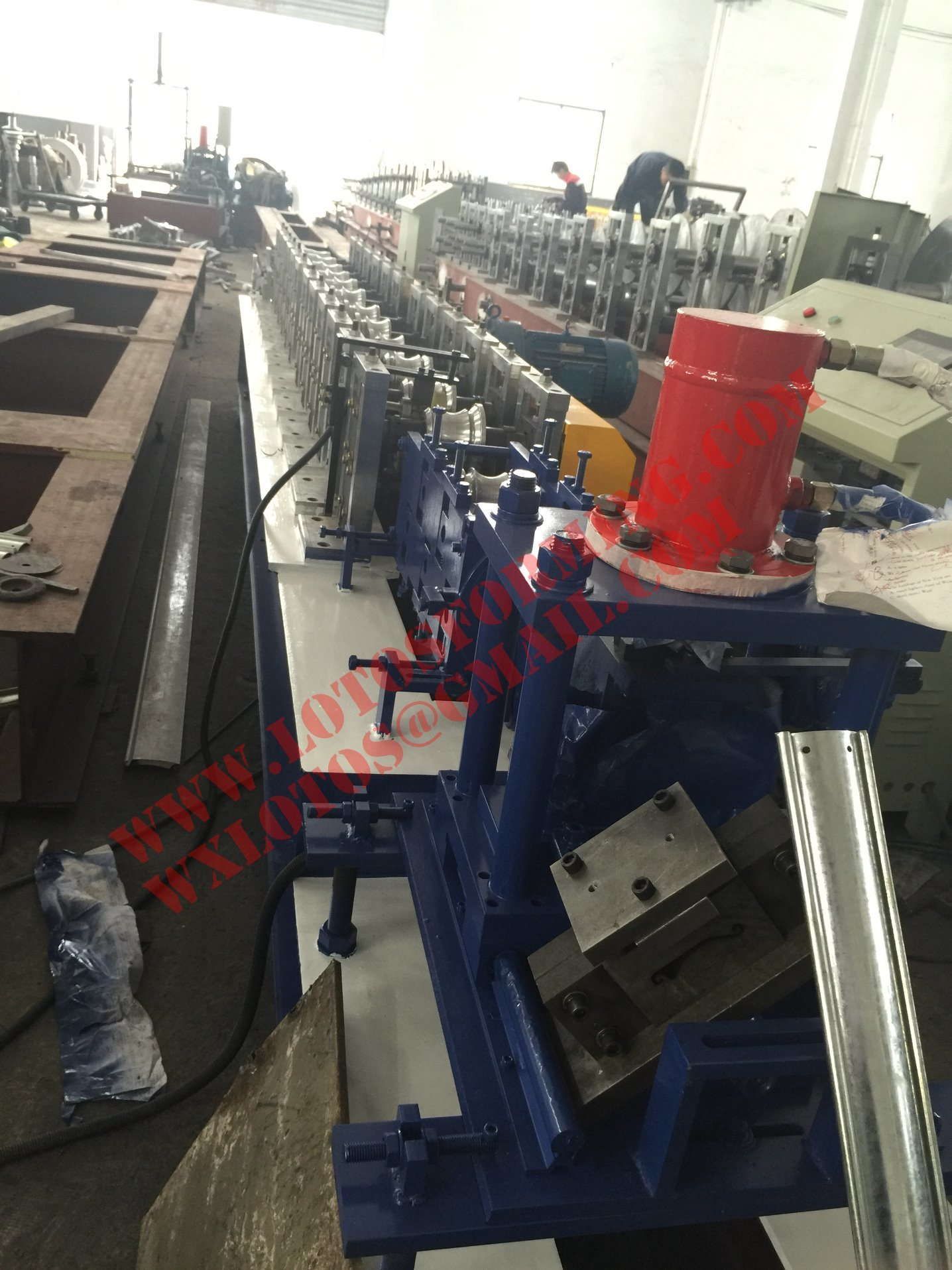 Single Layer Door Shutter Machine Lts-120c