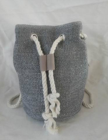 Casual Beach Bag, Made of Polyester with String