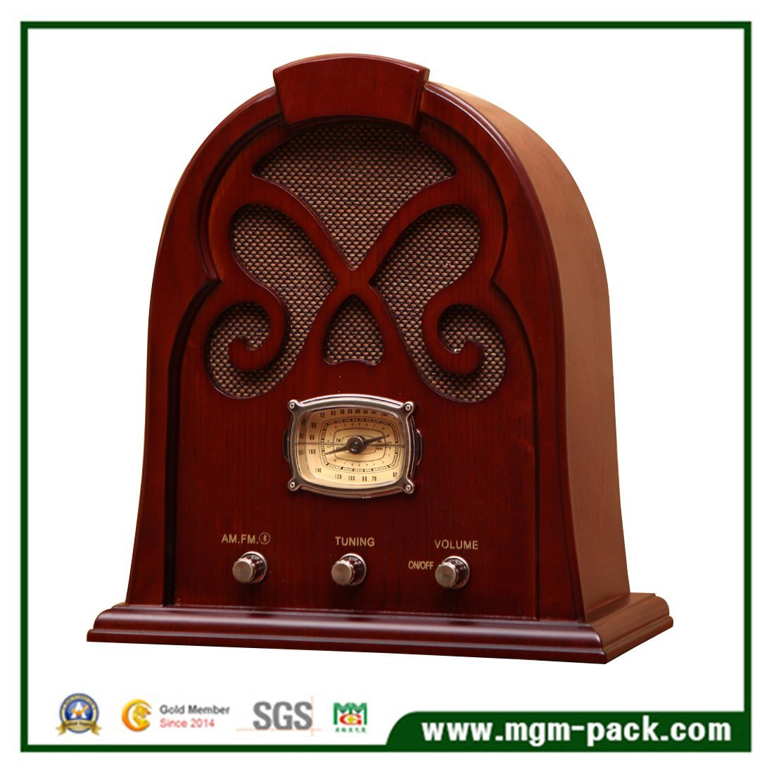 Muti Function Classical Wooden Radio for Sale
