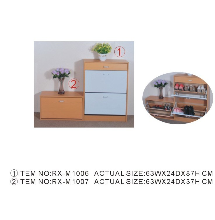 2014 Hot Sale Wooden Shoe Cabinet (RX-1006/1007)