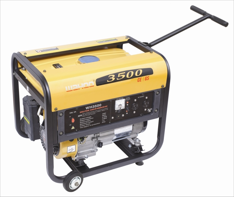CE 2500W Air Cooled 6.7HP Honda Engine Gasoline Generators (WH3500)