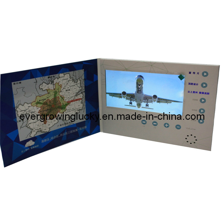 Chinese Wholesale 2.8/4.3/5.0/7.0/10.1inch LCD Video Greeting Card for Advertising Display