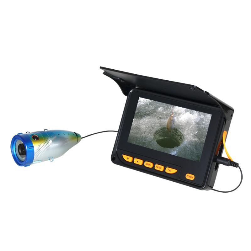"Fishing Camera with 4.3"" LCD Display 12 IR LED"