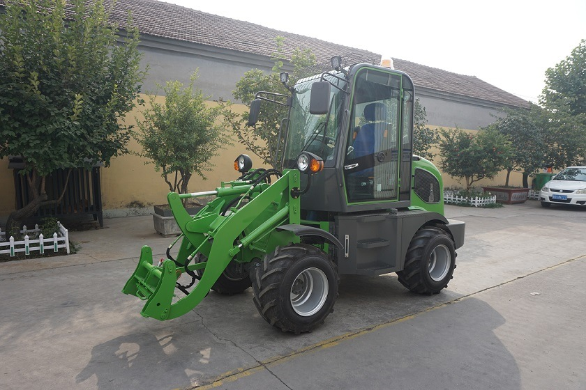 Hzm Top Quality Wheel Loader New Design 800kg Mini Loader