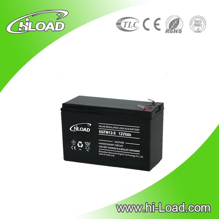 12V 9ah Free Maintenance Type Lead Acid Battery