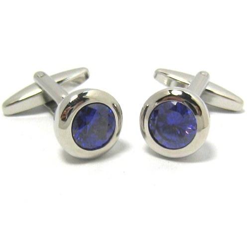 Crystal/Metal/Stone Fashion Cufflinks (H0049)