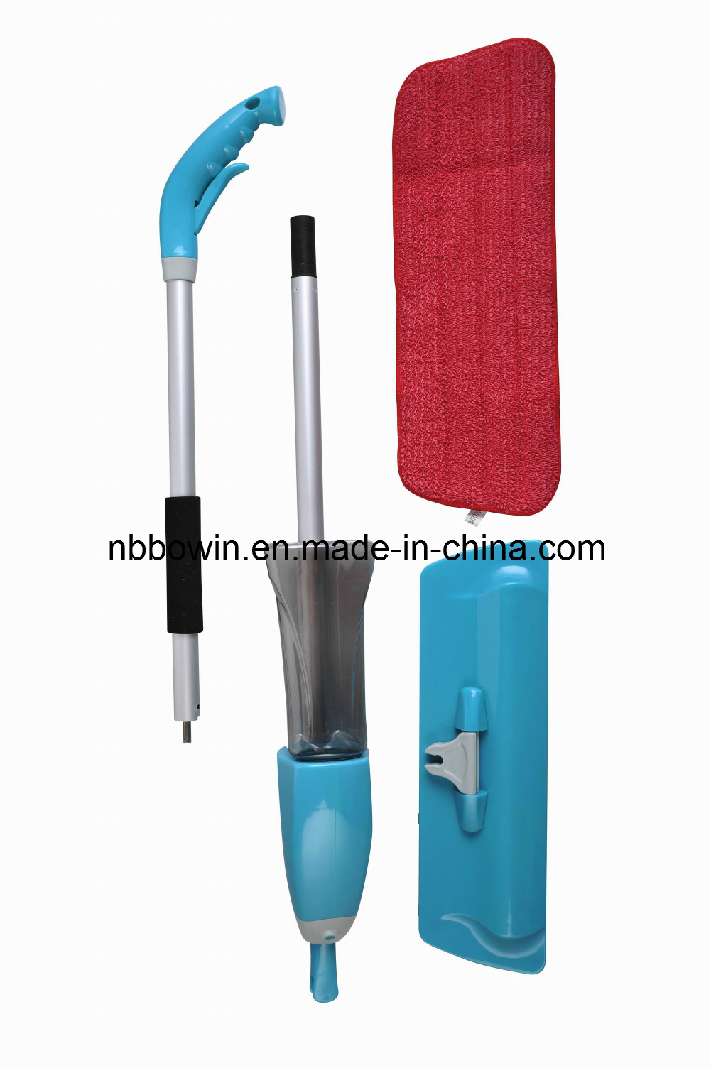 Portable Microfiber Floor Cleaning Spray Mop (BW131)