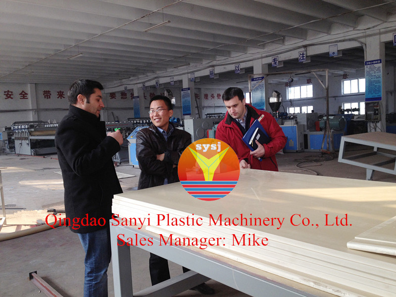 PVC Building Templete Foam Board Extrusion Line