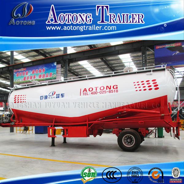 Low Density Powder Material Transport Tank Trailer