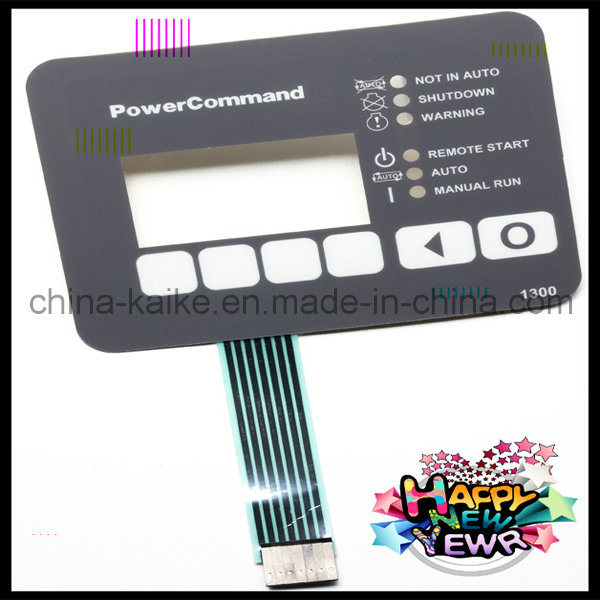 Membrane Keypad Stickers with Metal Dome