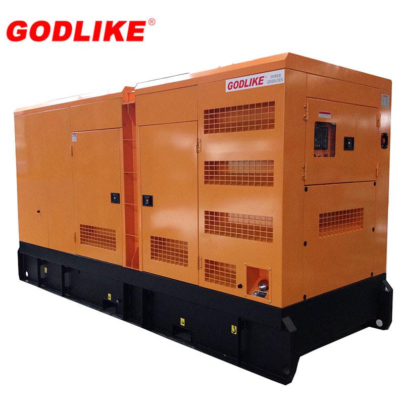 200kVA 400V Silenced Diesel Generator - Cummins Powered (6CTAA8.3-G2) (GDC200*S)