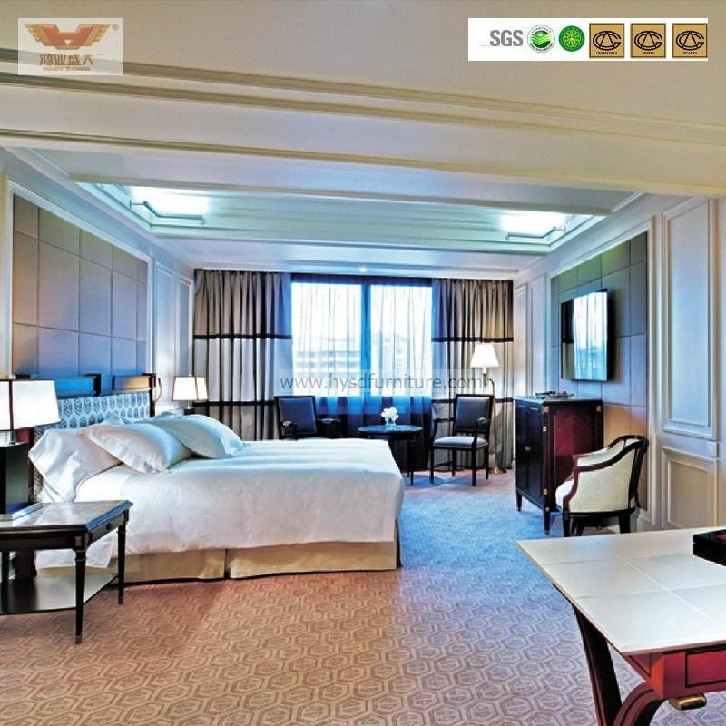 Five Star Hotel Modern Luxury Bedroom Furniture (HY-014)