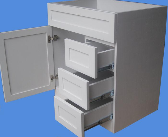 Bathroom Cabinets Solid Wood Vanity #Yb-121 (10)