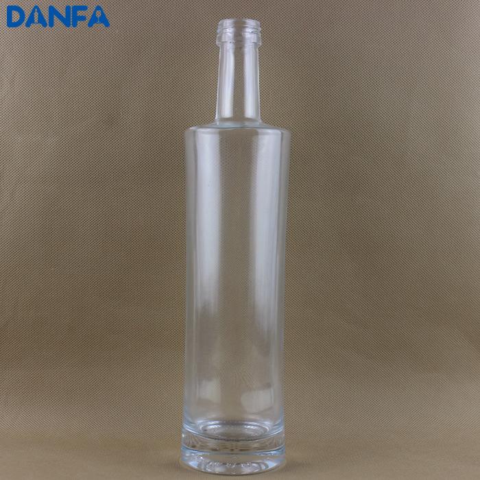 700ml Premium Glass Vodka Bottle (Paperless Label)