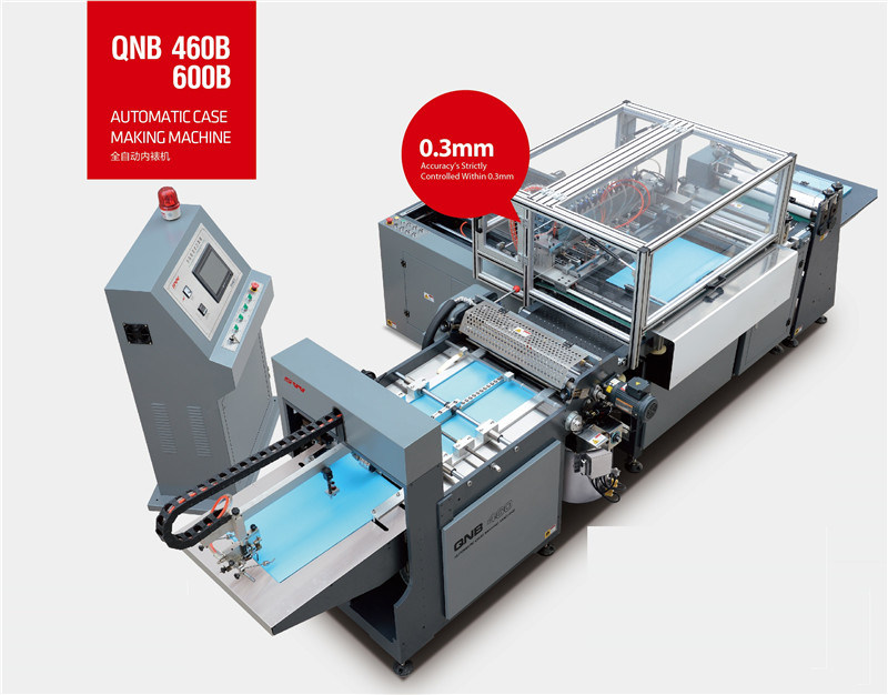 Book Cover Making Machine for liner Qnb-460b