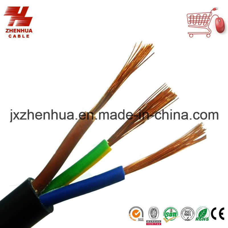 Flexible Round Stranded Copper Power Cable 3X2.5